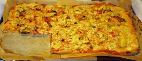pizzadeg till långpanna